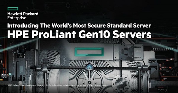 HPE ProLiant Gen10 family
